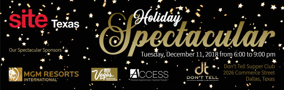 SITE Texas Holiday Spectacular 2018