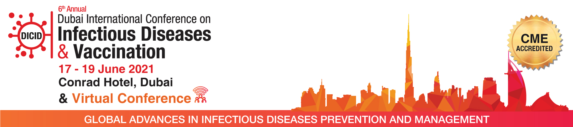 6th Annual Dubai International Conference on Infectious Diseases and Vaccination 2021