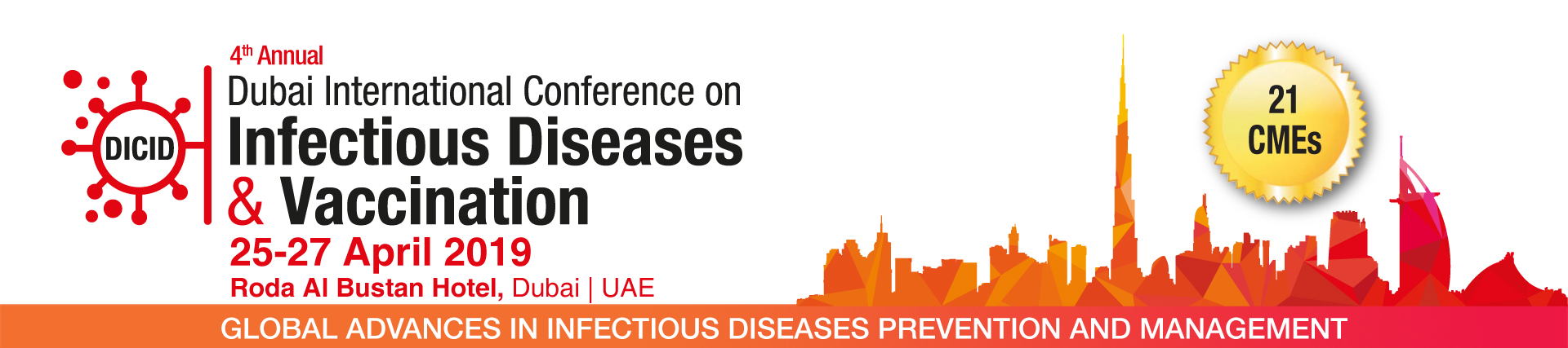 4th Annual Dubai International Conference on Infectious Diseases and Vaccination 2019