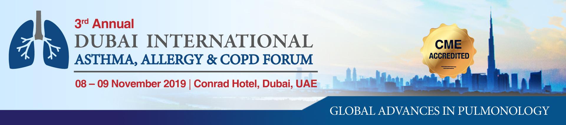 Dubai International Asthma, Allergy and COPD Forum Abstract