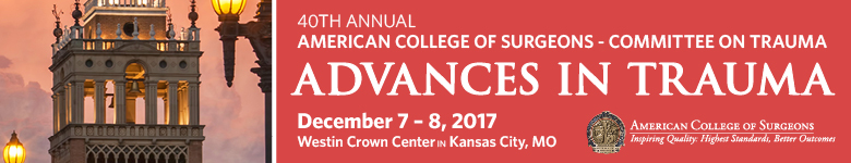Advances in Trauma 2017 - 40th Annual  Meeting