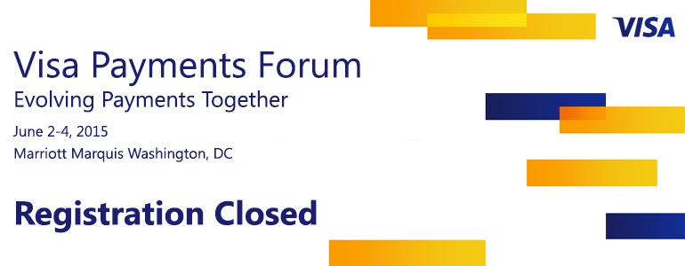 2015 Visa Payments Forum