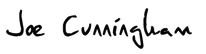 Joe Cunningham Signature