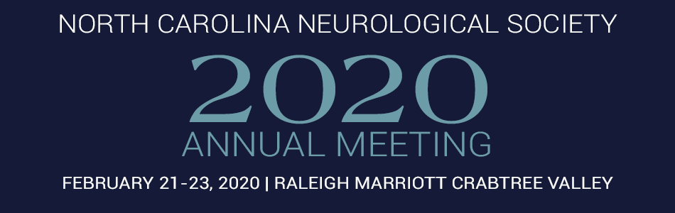 North Carolina Neurological Society 2020 Annual Meeting