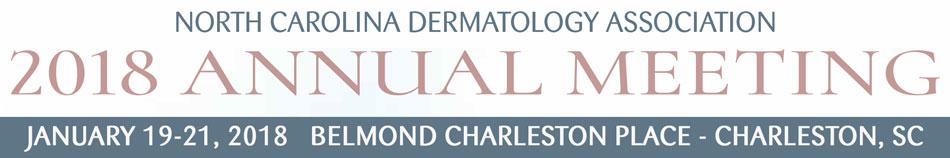 North Carolina Dermatology Association 2018 Annual Meeting