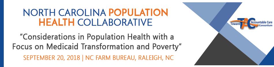 September 2018 NC Population Health Collaborative Meeting