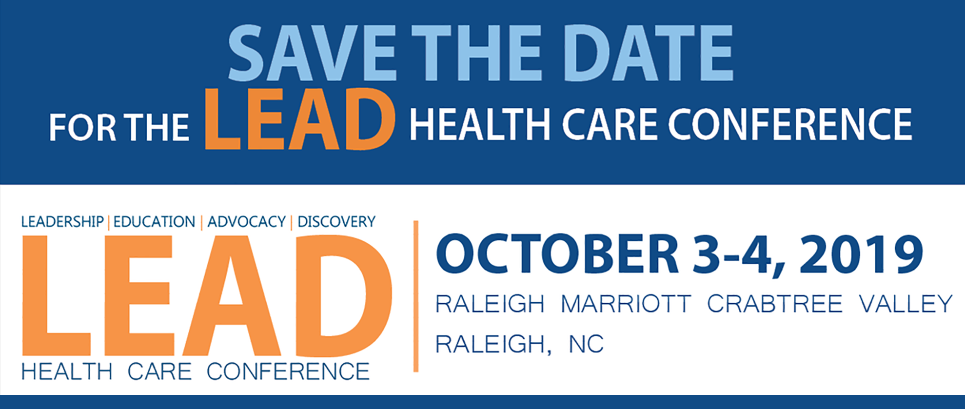 2nd Annual LEAD Health Care Conference