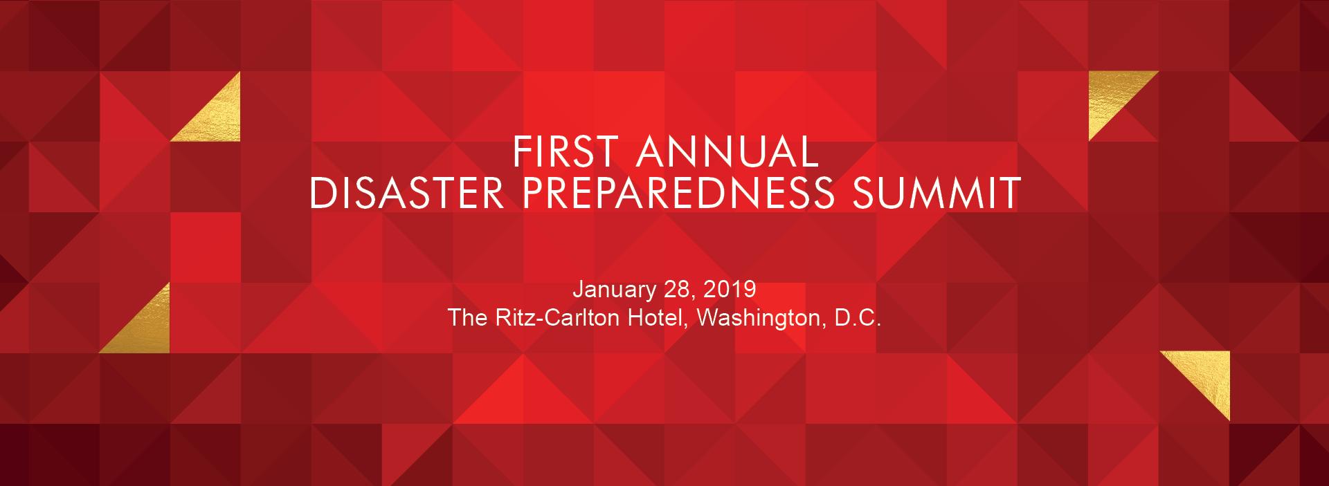 Disaster Preparedness Summit: A Ready Mindset