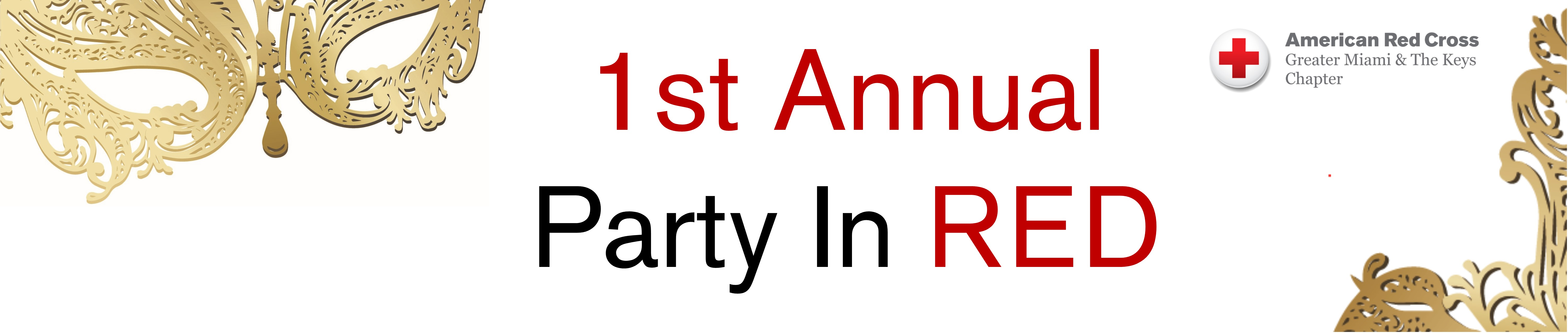 1st Annual Party In RED