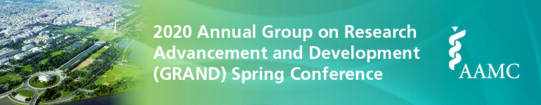 2020 Group on Research Advancement and Development (GRAND) Spring Conference
