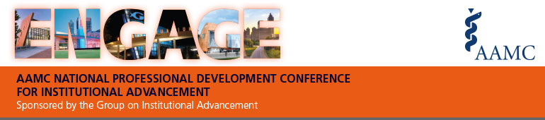 2015 AAMC National Professional Development Conference for Institutional Advancement