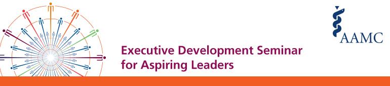 2015 Executive Development Seminar for Aspiring Leaders