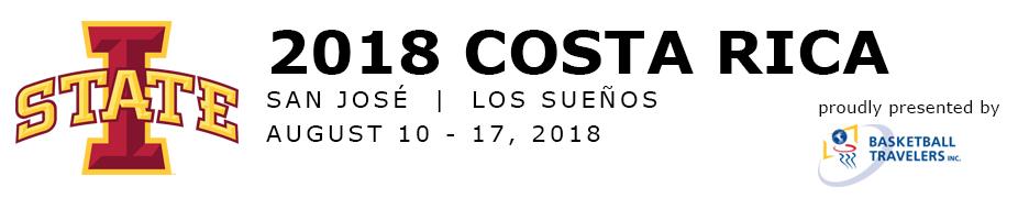 Iowa State Women's Basketball Costa Rica Tour 2018