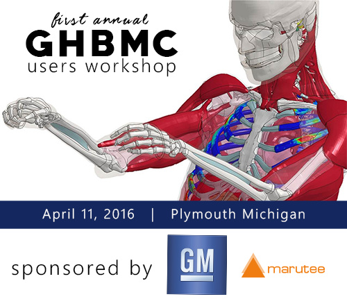 First Annual GHBMC Users Workshop