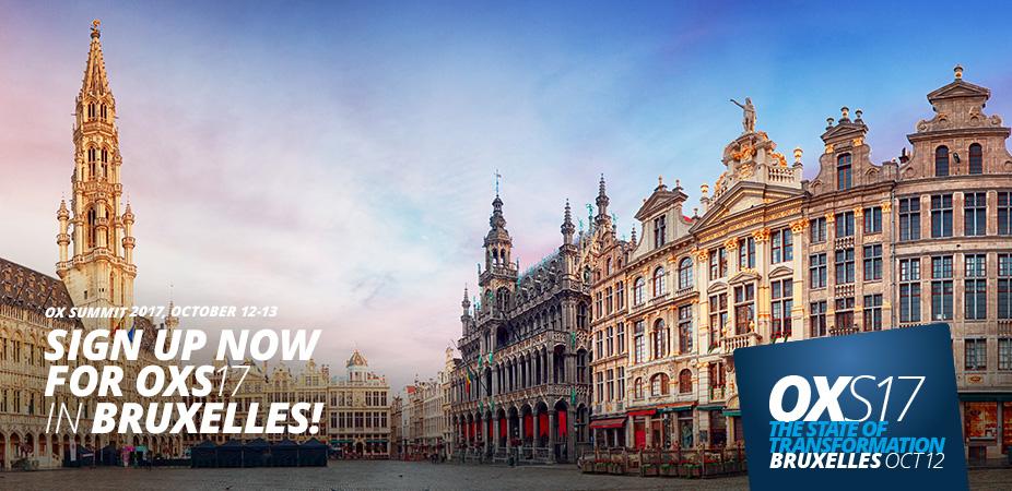 OX Summit - Bruxelles