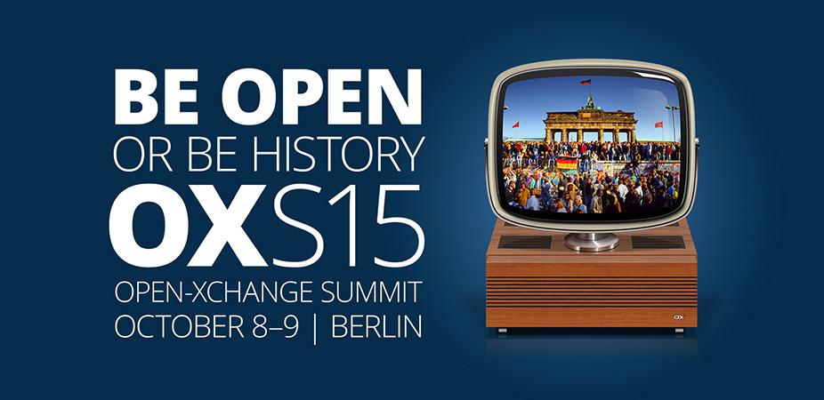 OXS15 - Open-Xchange Summit 2015
