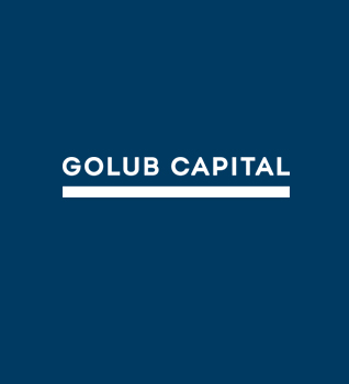 Golub Capital Blue and White