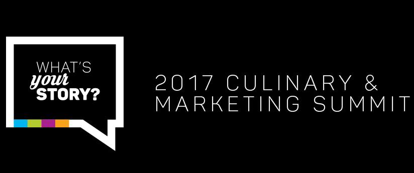2017 Culinary & Marketing Summit