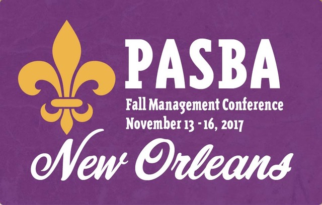 2017 PASBA Fall Management Conference