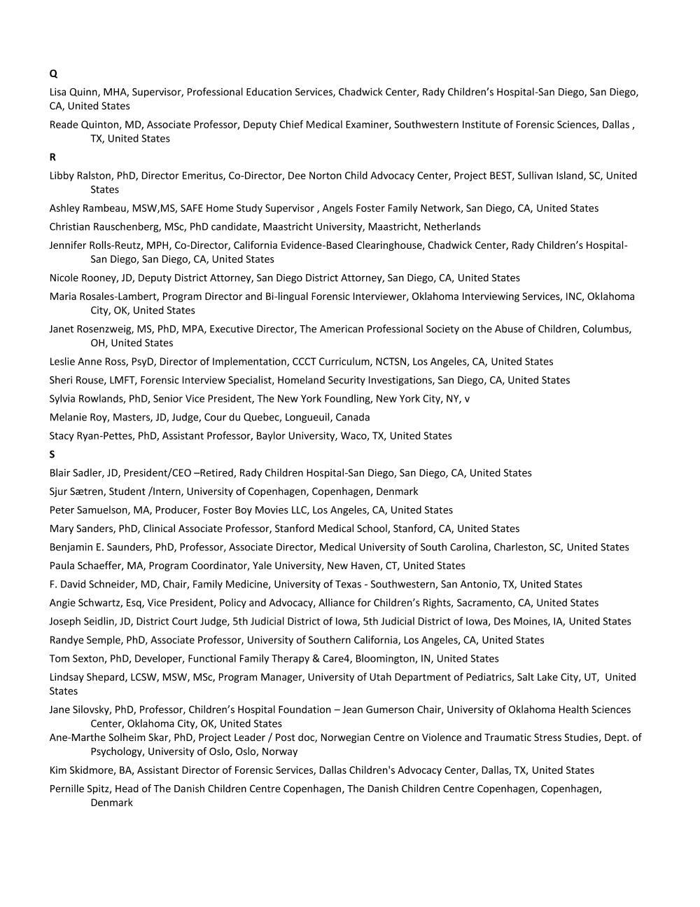 7_Faculty List - Alpha