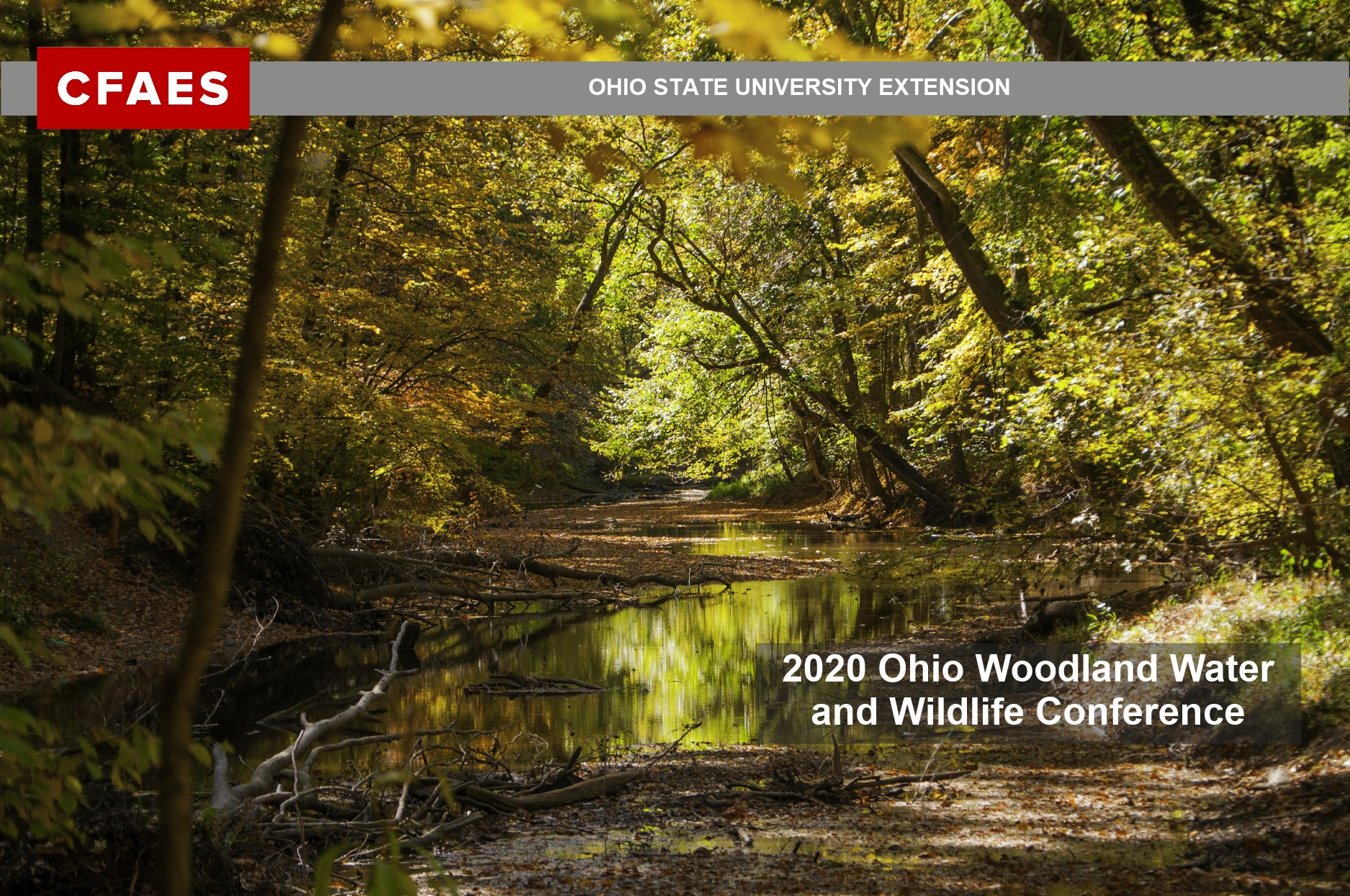 2020 Ohio Woodland Water and Wildlife Conference