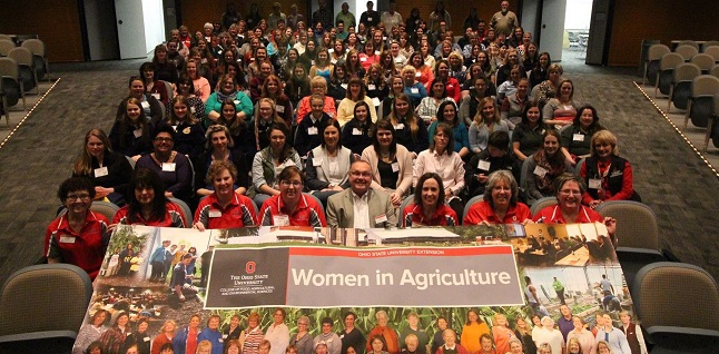 picture of attendees at a previous women in agriculture conference