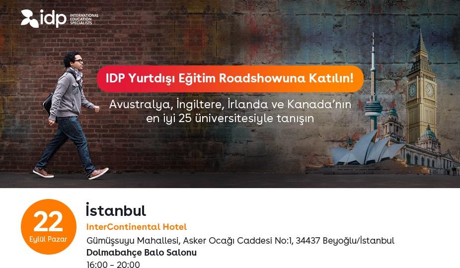 Join IDP Study Abroad Roadshow!