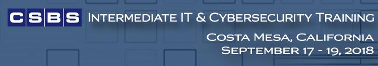 2018 District 5 Intermediate IT & Cybersecurity Training
