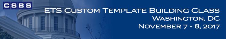 ETS Custom Template Building Class