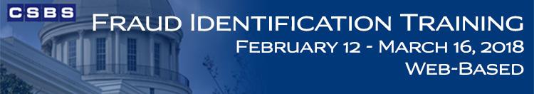 Fraud Identification Training (Feb-March 2018)