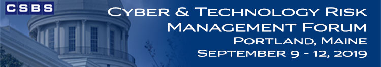 CSBS Cyber & Technology Risk Management Forum