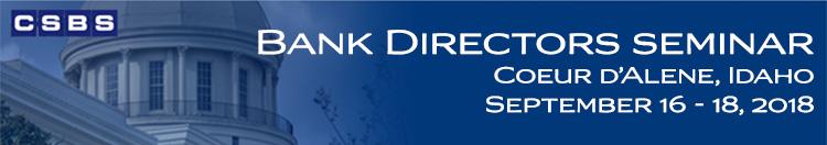 Bank Directors Seminar