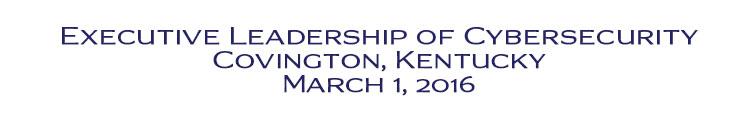 Executive Leadership of Cybersecurity Kentucky