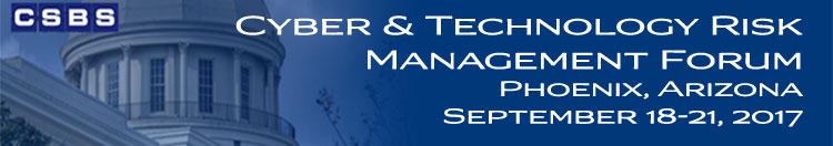CSBS Cyber & Technology Risk Management Forum