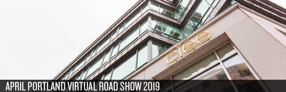 CIEE - Portland Virtual Road Show - April 2019