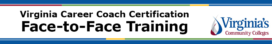 Virginia Career Coach Certification Face-to-Face Training