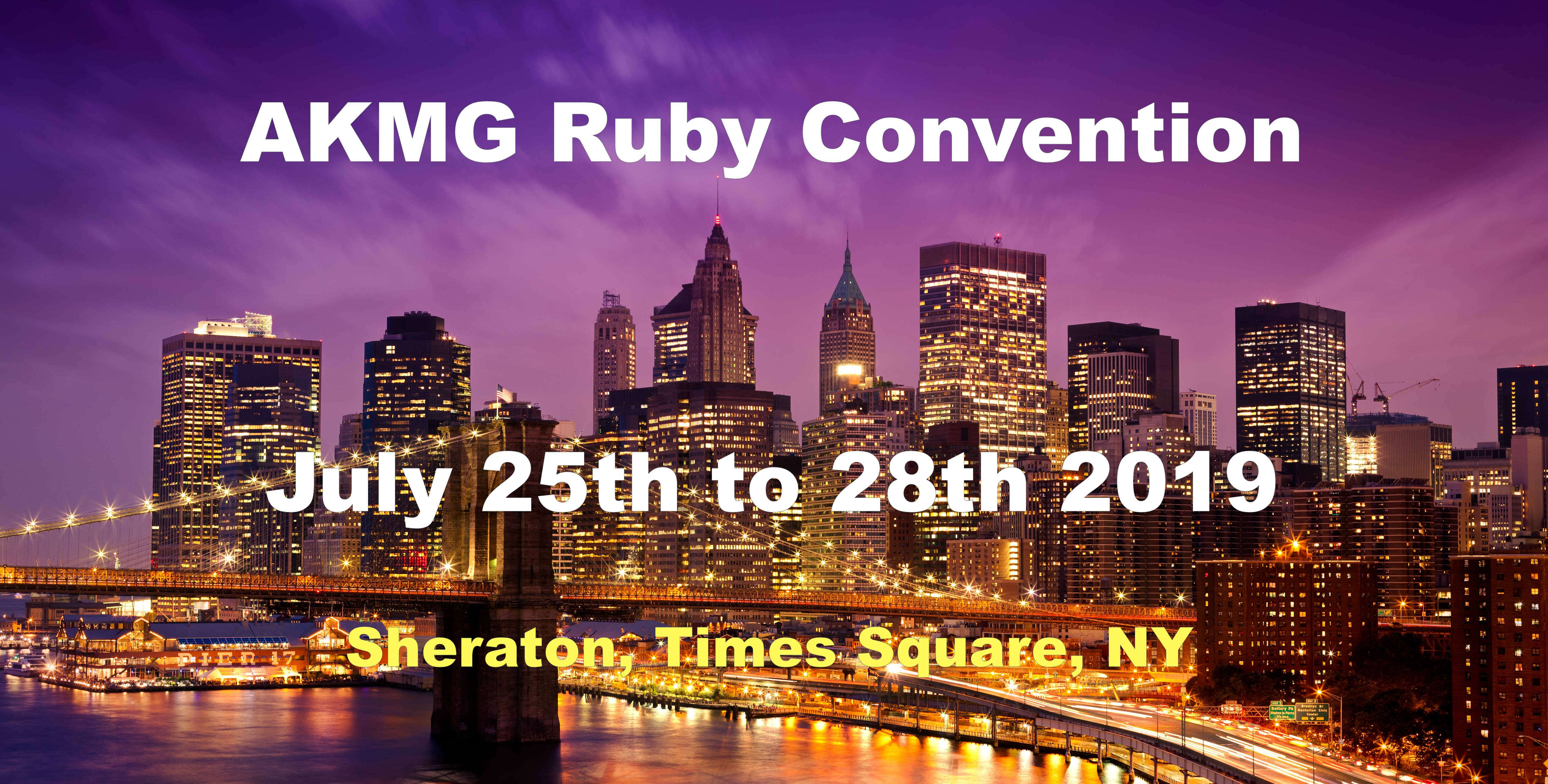 AKMG Ruby Convention 2019