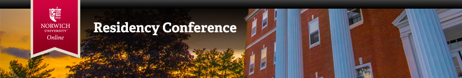 Norwich University 2018 Residency Conference