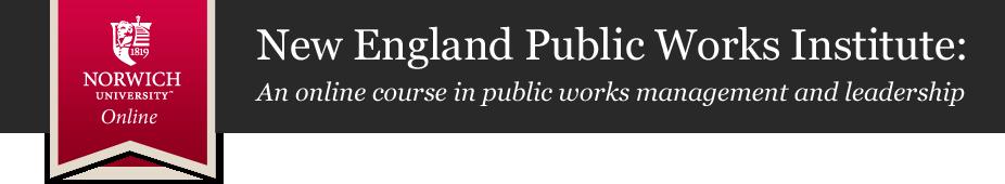 New England Public Works Institute
