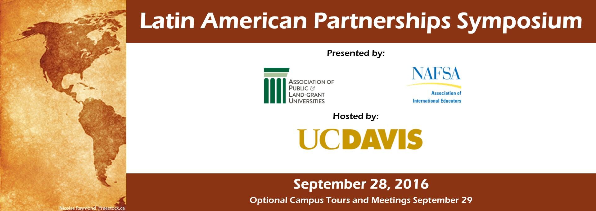 2016 APLU & NAFSA Latin American Partnerships Symposium