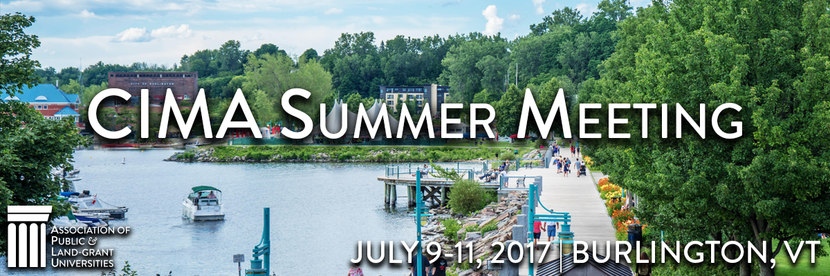 2017 CIMA Summer Meeting