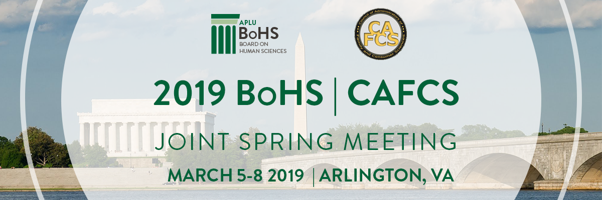 2019 BoHS/CAFCS Annual Meeting