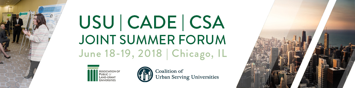 USU, CADE, & CSA 2018 Joint Summer Meeting