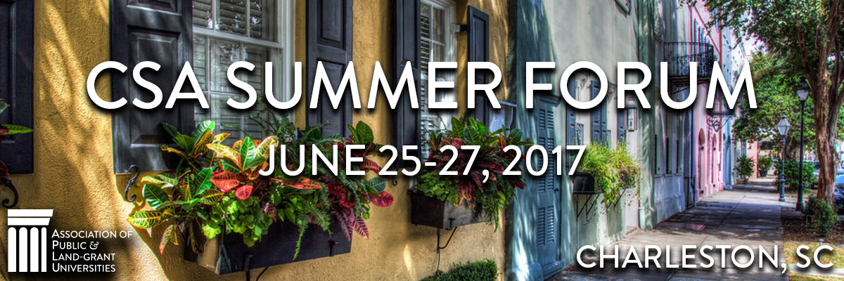 2017 CSA Summer Forum