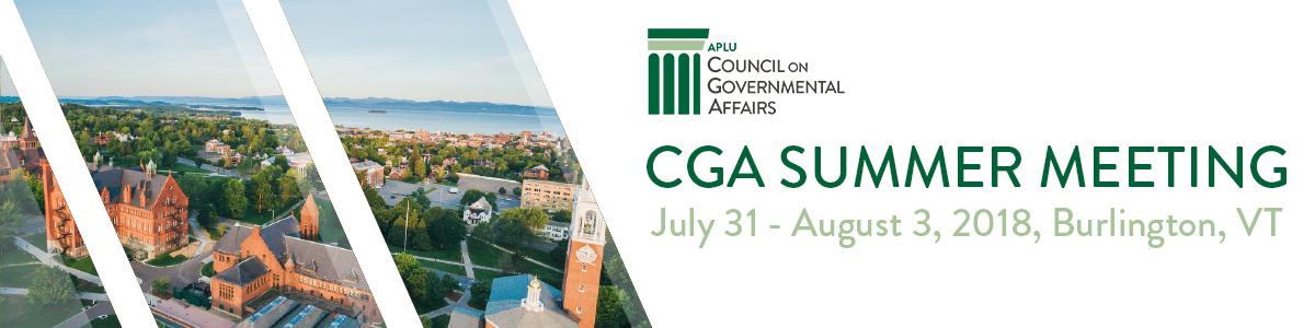 2018 CGA Summer Meeting