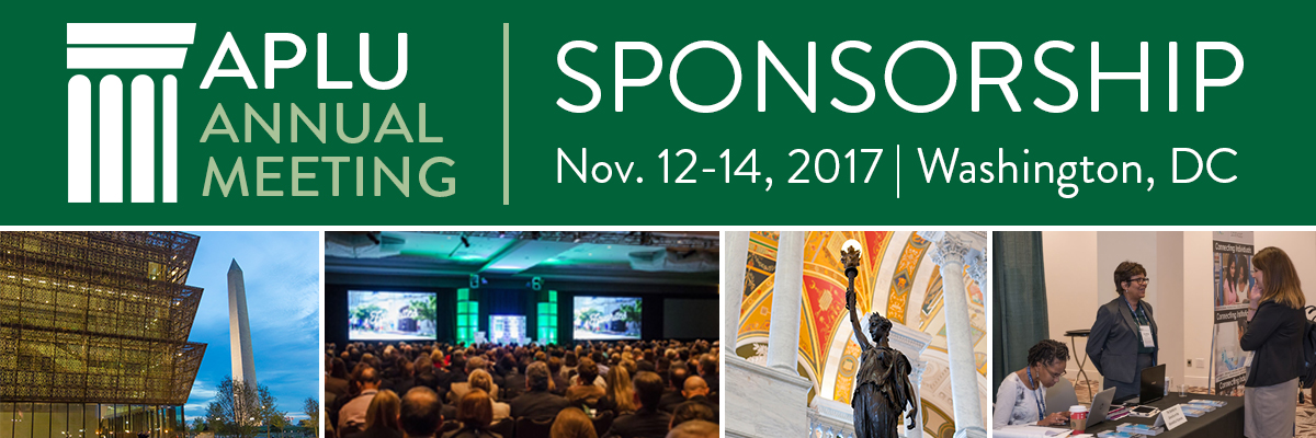 2017 APLU Annual Meeting Sponsors and Exhibitors