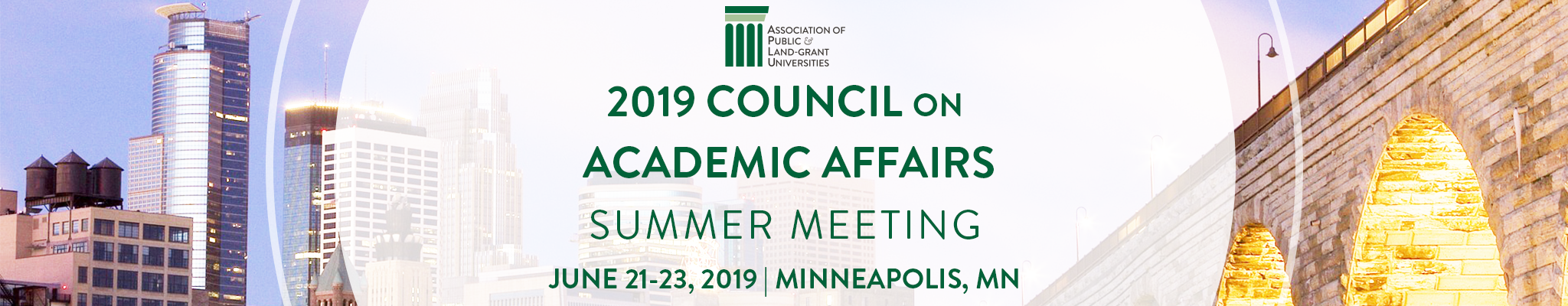 2019 Council of Academic Affairs Summer Meeting