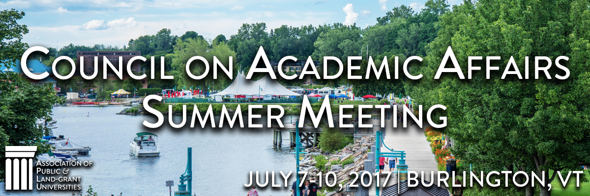 2017 Council on Academic Affairs Summer Meeting