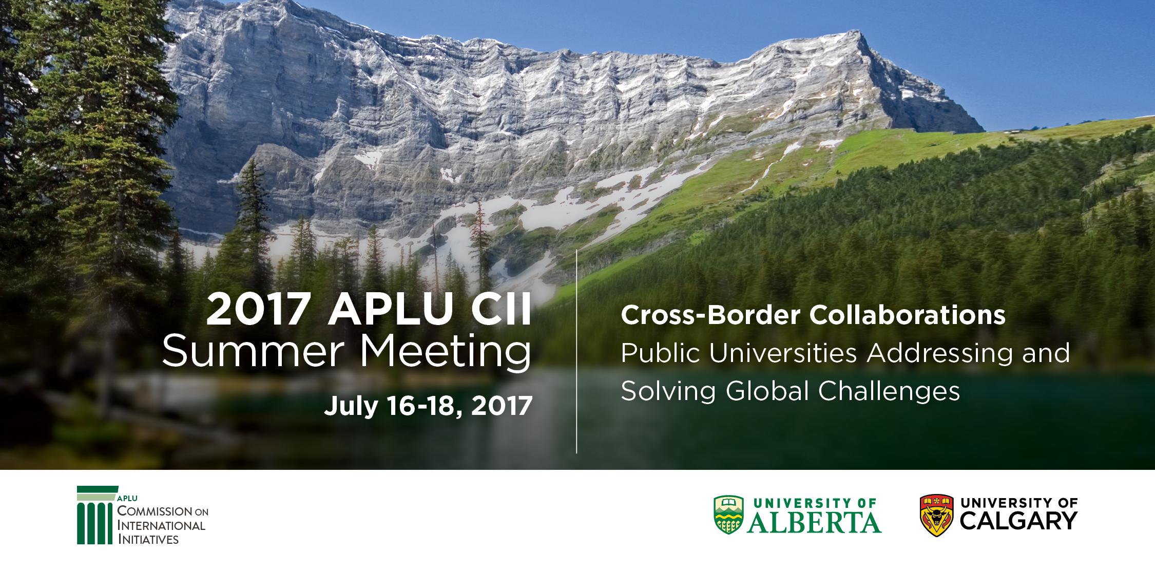 2017 APLU CII Summer Meeting