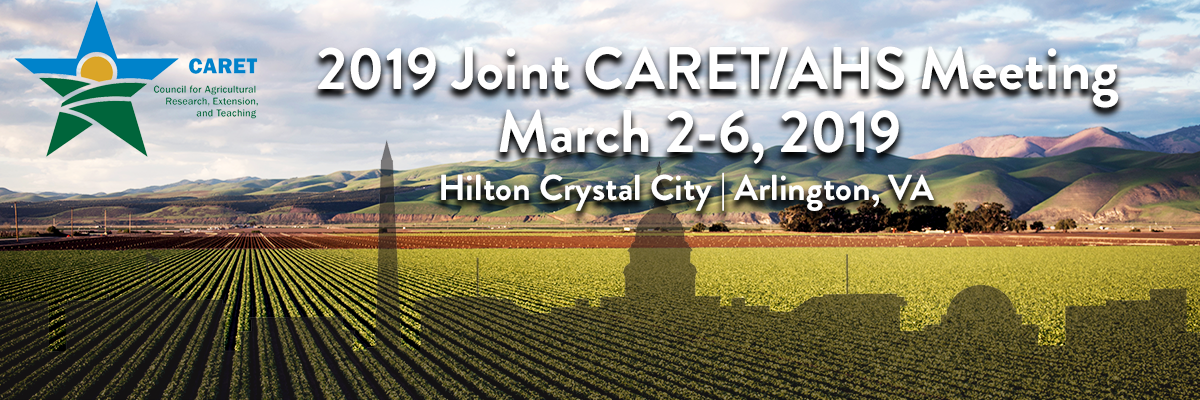 2019 Joint CARET/AHS Meeting
